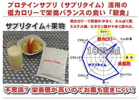 プロテインサプリ活用の朝食.jpg