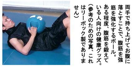 メディシンボールと腹筋強化写真.jpg