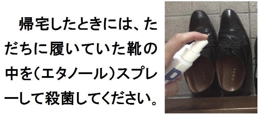 靴にスプレー.jpg