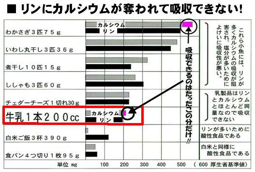 リンでカルシウムが奪われる グラフ.jpg