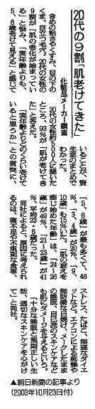 20代の9割肌老けてきた 新聞.jpg